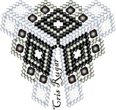 just the free patttern Bead Crochet Patterns, Beading Patterns Free, Seed Bead Patterns, Beaded Jewelry Patterns, Peyote Patterns, Beading Tutorials, Triangles, Beading Techniques, Seed Beads