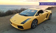Get behind the wheel of a Ferrari 360 Modena, Lamborghini Gallardo, or Porsche 911 Turbo for six laps around the track