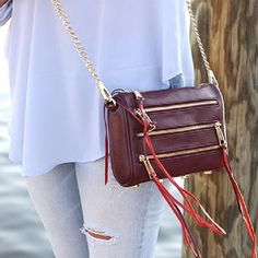 Burgundy bags are all lined up for fall & I literally can't wait! www.liketk.it/1ChKe