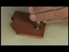 Basic Leather Working : How to Use Basket Tools in Leather Working - YouTube