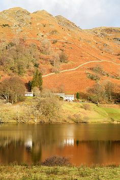 Loughrigg Tarn In The English Lake District Cumbria, Derbyshire, Popular Holiday Destinations, Archipelago, Lake District, World Heritage Sites, Holiday Travel, Lakes, Scenery
