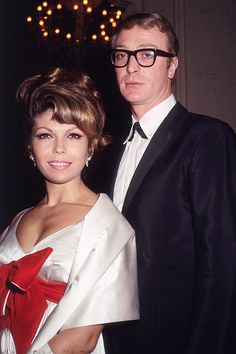 Michael Caine and Nancy Sinatra, 1965. Laughing Face, Nancy Sinatra, Hooray For Hollywood, Hollywood Party, Yesterday And Today, Pop Singers, British Actors, Film Director, Actresses