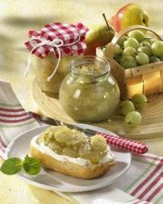 Das Rezept für Stachelbeer-Birnen-Marmelade und weitere kostenlose Rezepte auf LECKER.de