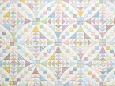 Pastel Faceted Jewel Quilt Photo 3