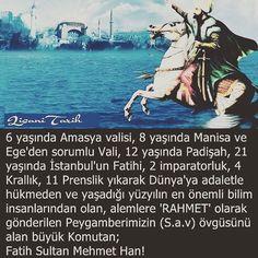 Atamız Fatih Sultan Mehmet Han