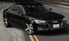 2013 Black Audi A5 . My lovely future car. Or for that matter any other Audi would be just fine. They are all beautiful.