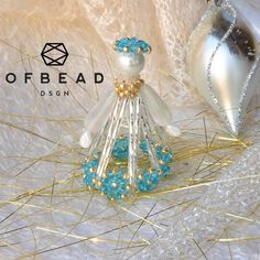 Do you like retro style? Do you like to have unique Christmas tree decoration or to make a special Christmas gift other than jewelry? Do you like to bead,  it don't have much time or you are not so skilled or both? If yes, then this tutorial is for you.