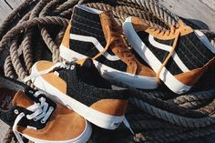 DQM x Vans Wovens Sneaker Collection New Sneakers, Adidas Sneakers, Buy Vans, Only Shoes, Vans Sk8, Types Of Shoes, Nike Huarache, Vans Shoes, Me Too Shoes