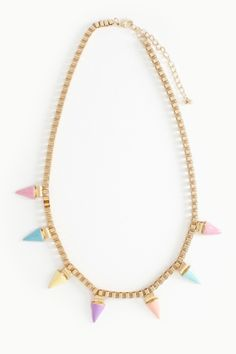 Soft Spike Collar Necklace
