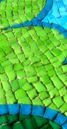 green mosiac
