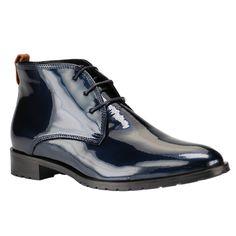 Damen Schuhe Blau Lack bei SchuhXL - Schuhe in Übergrößen http://www.schuhxl.de  #Damenschuhe #XXL