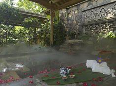Hot Spring Pool at the Brilliant Resort & Spa, Chongqing, China