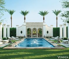 Pool Envy: Richard Hallberg designed pool in Veranda | Scotch and Nonsense