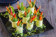 Zucchini Goat Cheese Roll Ups | 19 Clever Appetizers Guaranteed To Impress Your Party Guests