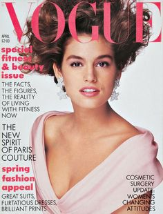 Cindy Crawford April 1987