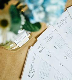 The Ultimate Guide To Hosting A Whiskey Tasting Party (& Free Printable Tasting Note Cards) — Roam + Go Lightly 40th Birthday Quotes, Wife Birthday, Birthday Images, Birthday Ideas, Birthday Gifts, Happy Birthday, Birthday Parties, Beer Tasting Birthday, Cigar Party