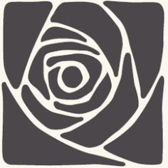 art nouveau rose cement tile; retail product