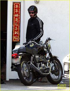 Keanu Reeves biker dude 01