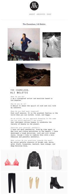 Interviews & Publications — ALI BELETIC Chameleon, Rock And Roll, Ali, Interview, Rock Roll, Chameleons, Rock N Roll, Ant