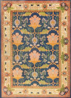 / gavin morton arts and crafts donegal rug /