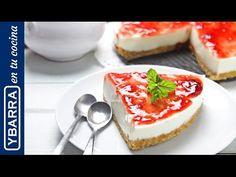Receta Tarta de queso sin horno - Ybarra en tu cocina
