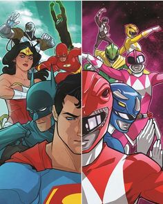 The #JusticeLeagueofAmerica is going to meet the #PowerRangers in a upcoming #crossover between #DCcomics #SabanBrands and #BOOMstudios!  Paraphrasing the original press release: Coming in January 2017 by writer Tom Taylor with art by Stephen Byrne the story sees the Black Ranger Zack flung into an the #JLA's universe and the other Rangers have to get to him. Expect a brief fight with the #JusticeLeague before they eventually #teamup to combat the bigger threat that was behind the whole…