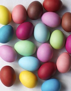 Dyeing Easter Eggs with Rit Dye