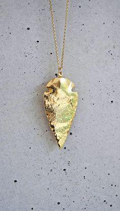 gold arrowhead
