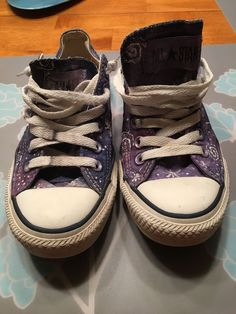 7610ad4f4d2d GUC Converse All Star Limited Edition Galaxy Sneakers - UNIQUE w 6.5   m  4.5  fashion  clothing  shoes  accessories  unisexclothingshoesaccs ...