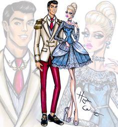 'Disney Darling Couples' by Hayden Williams: Cinderella & Prince Charming #Disney