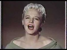 PEGGY LEE-He's aTramp-Walt Disney-Making of Lady & the Tramp*Walt tells how the song came to be used in the film and Peggy  sings the song(check out  that amazing green dress)!!*