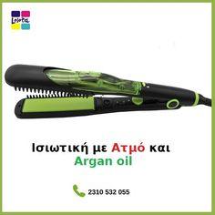 Επαγγελματική Ισιωτική Μαλλιών Ατμού SOKANY ACTS IRON HS 988 με Κεραμικές  Πλάκες Argan   Tourmaline ce95b95ad3b