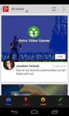 Google+ para Android se actualiza con mejores ajustes en la imagen de portada y corrección de errores
