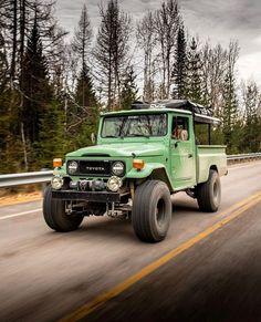 Custom Land Cruiser 40 series - Built to Order Toyota 4x4, Toyota Trucks, Lifted Ford Trucks, Toyota Hilux, Toyota Tacoma, Pickup Trucks, Toyota Land Cruiser, Fj Cruiser Off Road, Cruiser Car