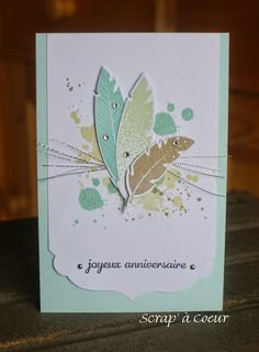 Scrap' à Coeur: Un trio de cartes d'anniversaire...                                                                                                                                                     Plus