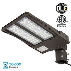 9. LEONLITE LED Parking Lot Light