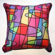 Jelly Bean Cushion Pink - Katz Designer Textiles