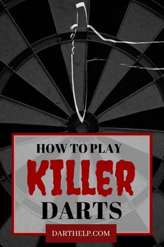 Killer Darts is one of the unique games that works well with an odd number of players. Killer is also perfect for larger groups of players since it tends to play rather quickly and there is an exciting level of light-hearted tension throughout. Darts Rules, Darts Game, Man Cave Games, Man Cave Bar, Darts And Dartboards, Hoop Games, I Deserve, My Mood, Design Quotes