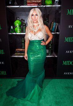 Kim Kardashian - 2nd Annual Midori Green #Halloween Party