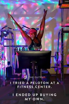 The experience of using your Peloton at home is unmatched.