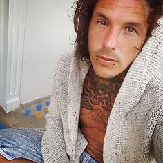 Sketch Jay Hutton Tattoos, Tattoo Fixers, Sexy Tattooed Men, Paolo Nutini, Tattoo Sketches, Gorgeous Men, Tattoos For Guys, Sexy Men, Mens Fashion