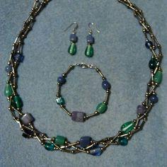 I just added this to my closet on Poshmark: Awesome one of a kind set !!!. Price: $45 Size: OS look for Heidi's closet! homemade jewelry shop poshmark  poshmark.com/closet/heidisjewelry