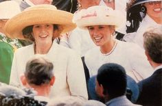 Princess Diana and Sarah 1991