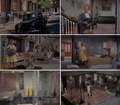 The Parent Trap Art Direction: Carroll Clark, Robert Clatworthy, Set Decoration: Hal Gausman, Emile Kuri