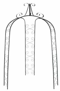 CobraCo wide Gazebo Traditional Arch, Patio, Garden, Deck, New Garden Arch Trellis, Wood Trellis, Garden Arbor, Lawn And Garden, Metal Arbor, Wood Arbor, Garage Pergola, Patio Gazebo, Gazebo Curtains