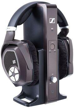 Sennheiser RS 185 RF Wireless Headphone System with HDR 185 HeadPhones #Sennheiser