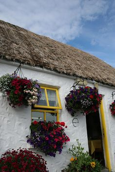 Irish cottage - Inishmore   http://www.flickr.com/photos/deirdre/2711012014/