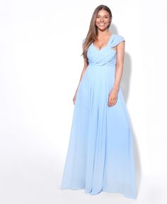 3ea57b66e7 Order our Cross Pleats Maxi Prom Dress online now from Krisp.