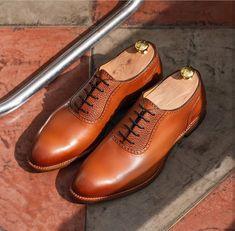 b68d7cb5d6a Handmade Men s New Tan Color Shoes