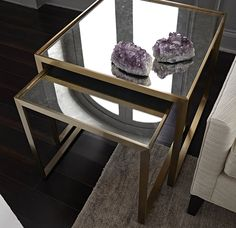ASTOR NESTING SIDE TABLE<BR>[available online and in stores]